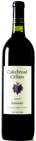 Cakebread Cellars Zindandel Red Hill Lake County